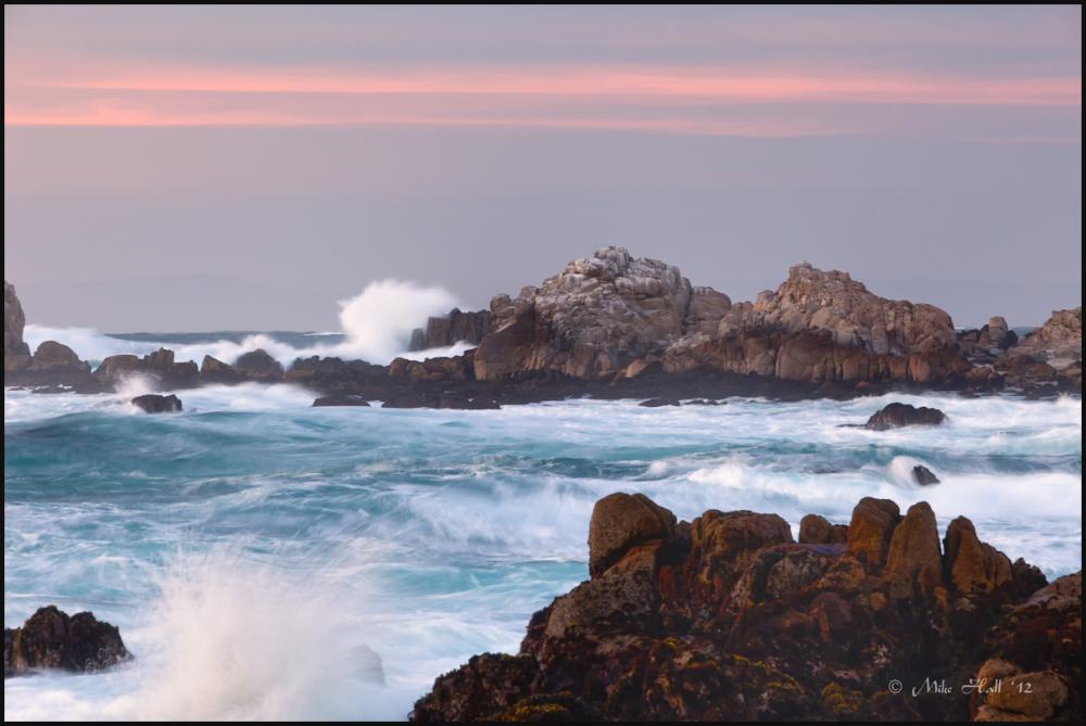 Pacific Grove Sunset light, Monterey Bay, CA