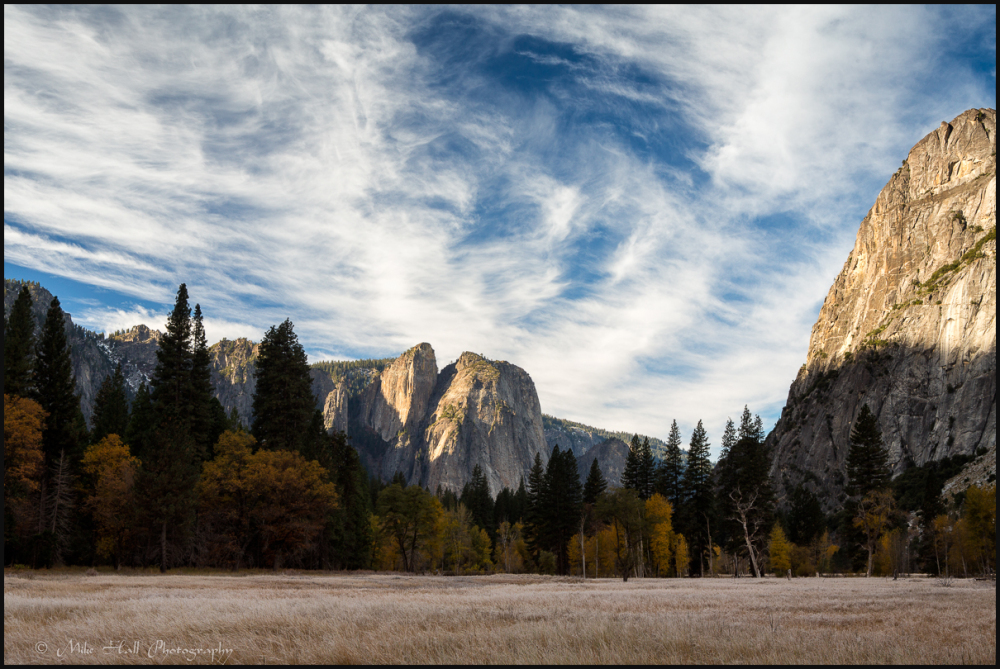 Fall Color in Yosemite Valley