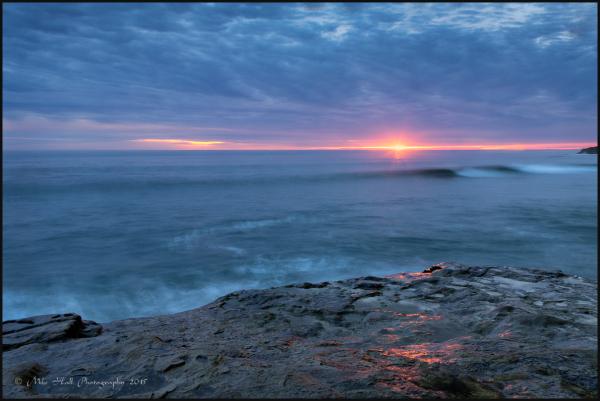 Winter Sunset , Monterey Bay