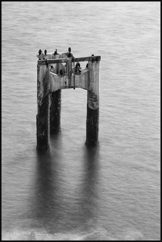 Piers at Davenport, CA
