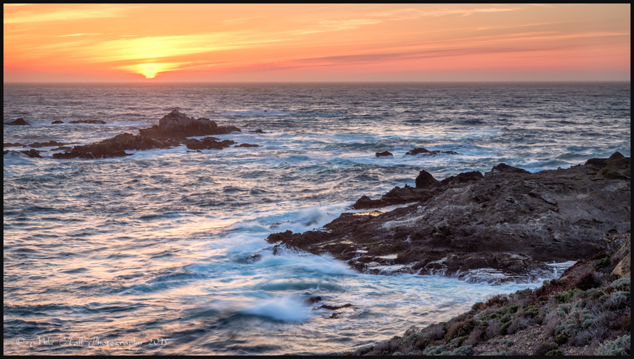 Sunset at Point Lobos State Natural Reserve
