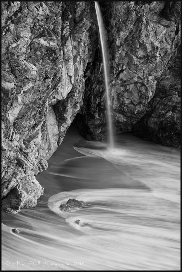 McWay Falls in Julia Pfeiffer Burns St Pk, Big Sur