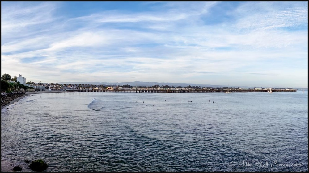 Santa Cruz Municipal Wharf and Cowells Beach