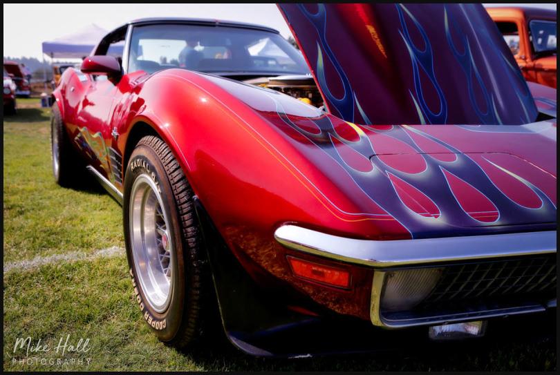 Corvette Stingray at Cops N Rodders, Scotts Valley