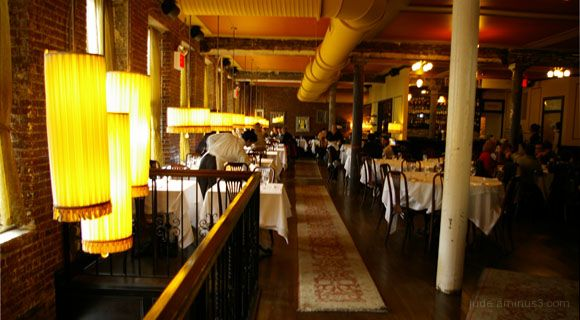 Dining in Soho