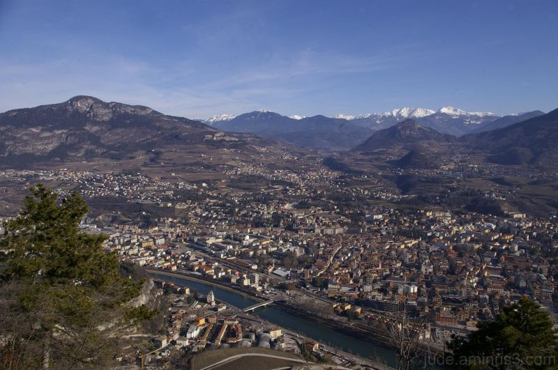 Trento from above