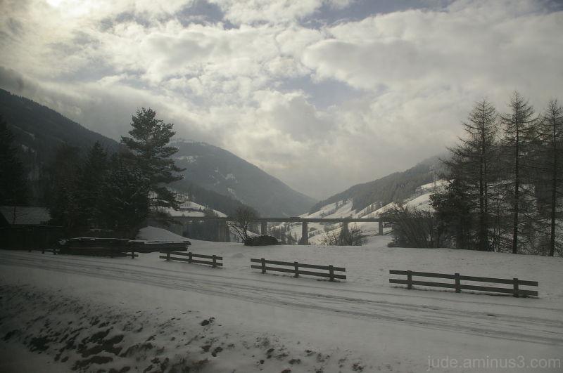 Taken from the train, going through Switzerland