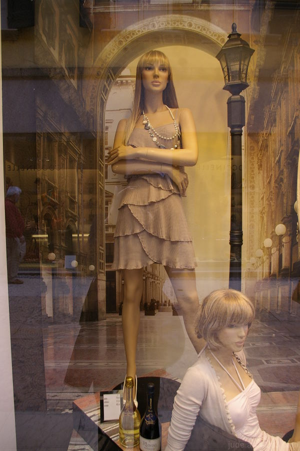 Shop window, Verona