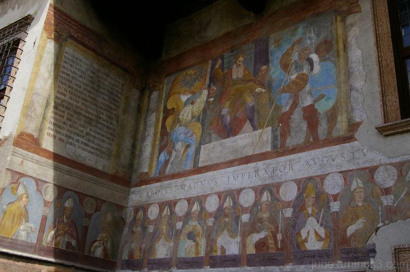 Fresco, Castello del Buonconsilgio