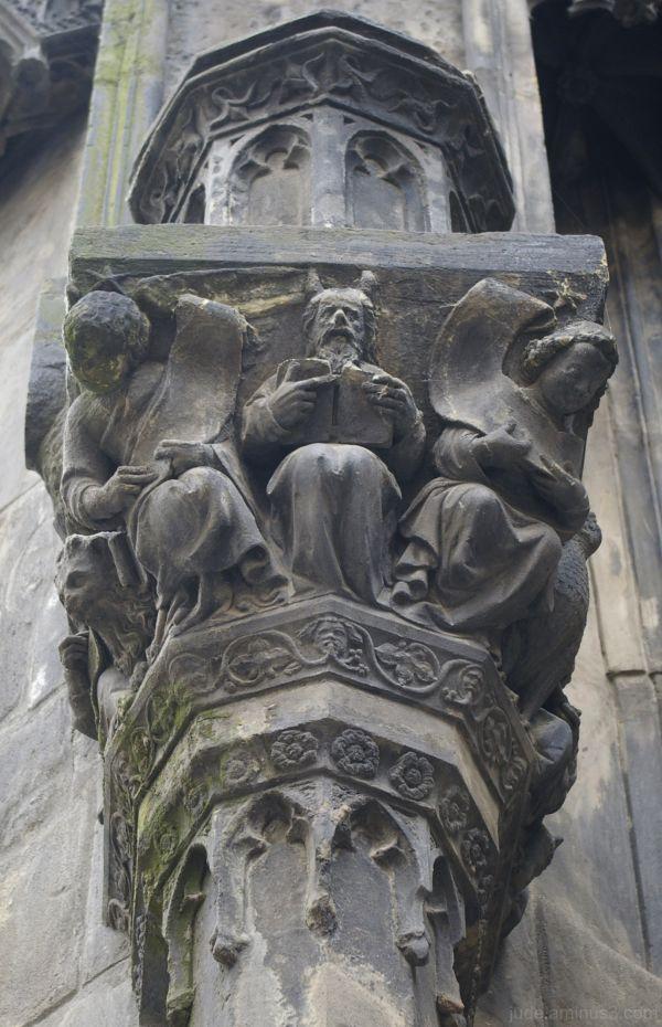 Detail - side entrance Tyn Church