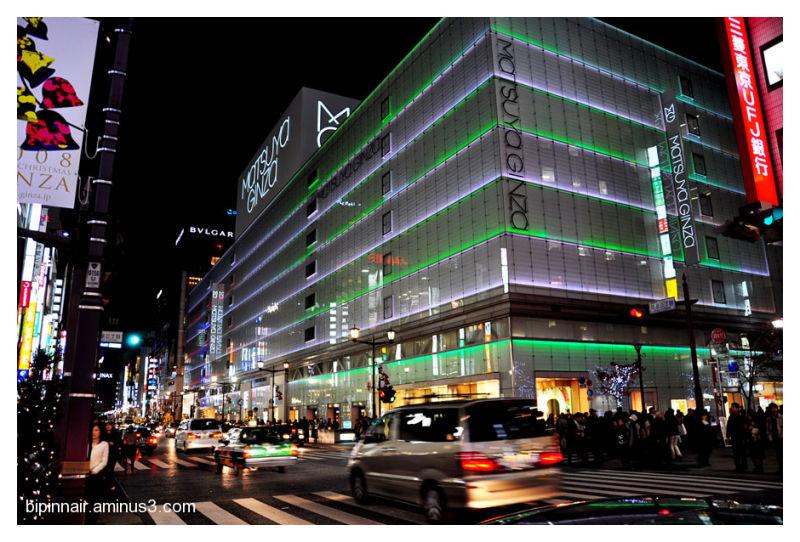 Ginza , Tokyo
