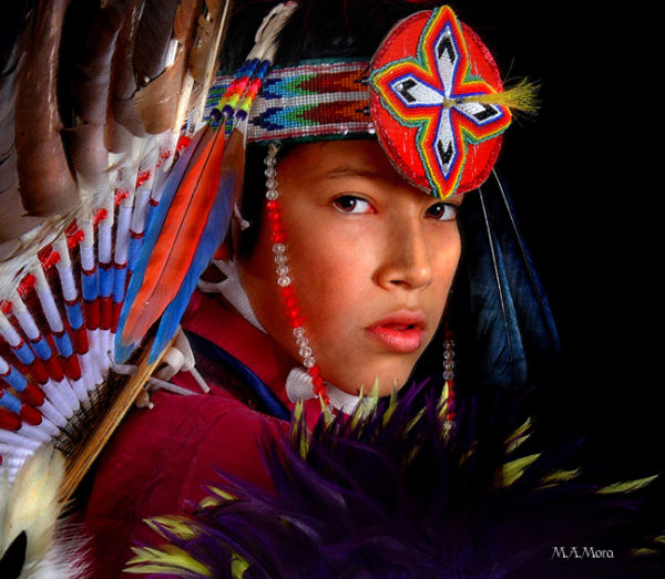 Native American Indian Portrait