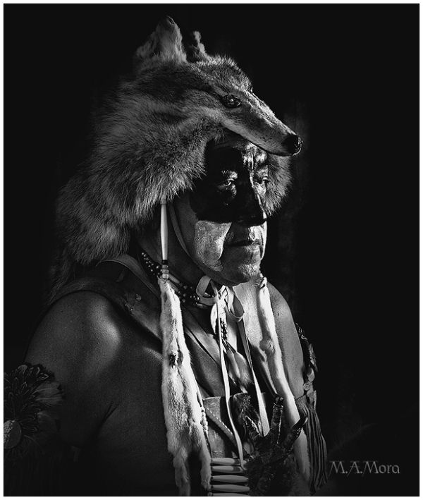 Native American Formal Portrait