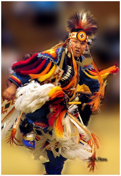 Native American Grass dance