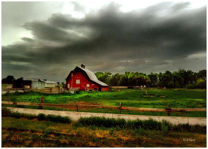 Summer storm in nebraska