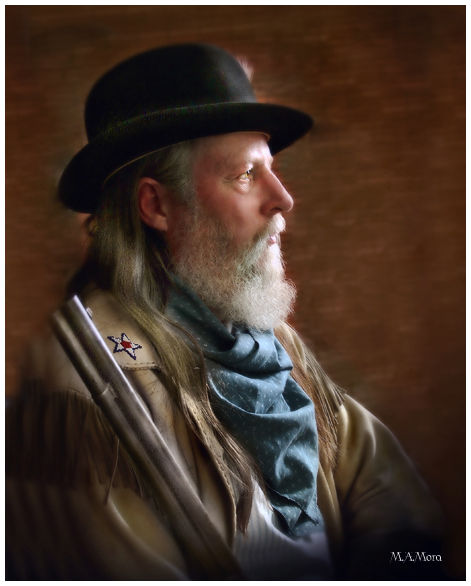 Old West Portrait