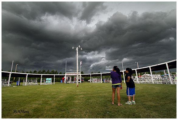 Powwow cut short by bad weather