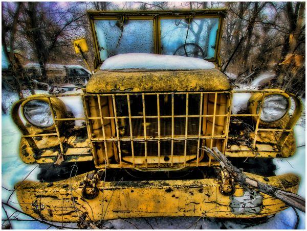 Ols Army Truck