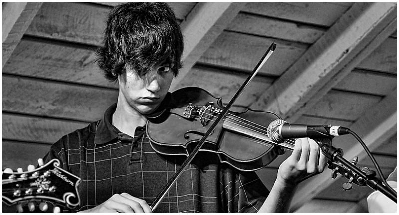 Young Fiddle player