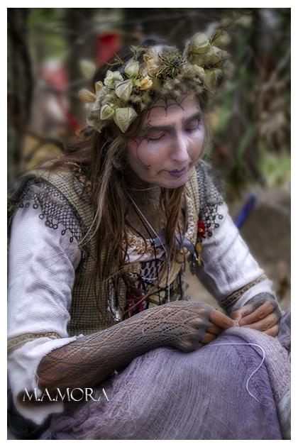 grandma cobweb.  Bristol Renaissance Faire