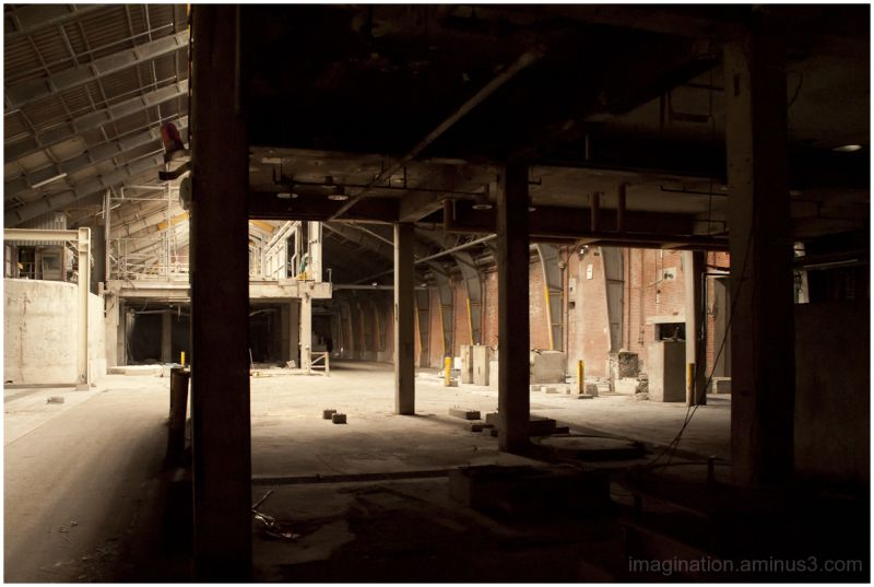Old factory plant