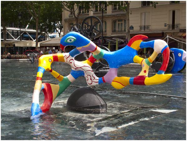 Paris, Tinquely Fountain