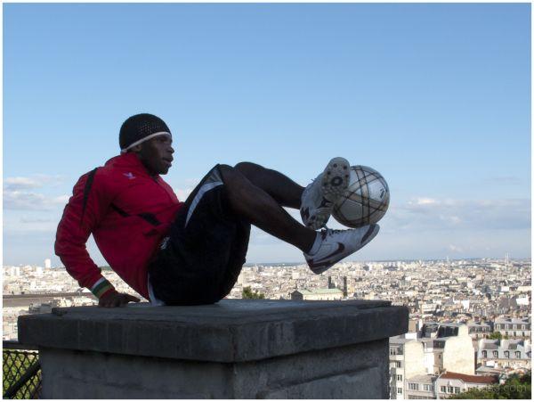 Paris, Sacre Coeur, Iya Traore