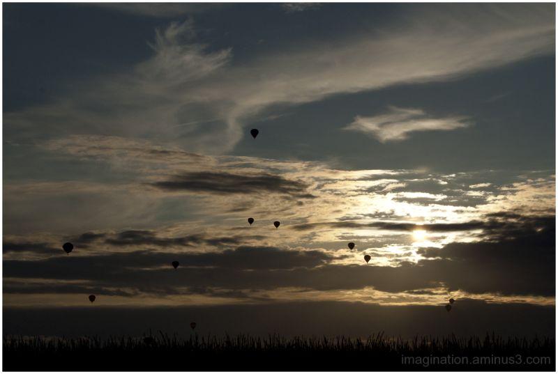 Hot air balloons, Joure