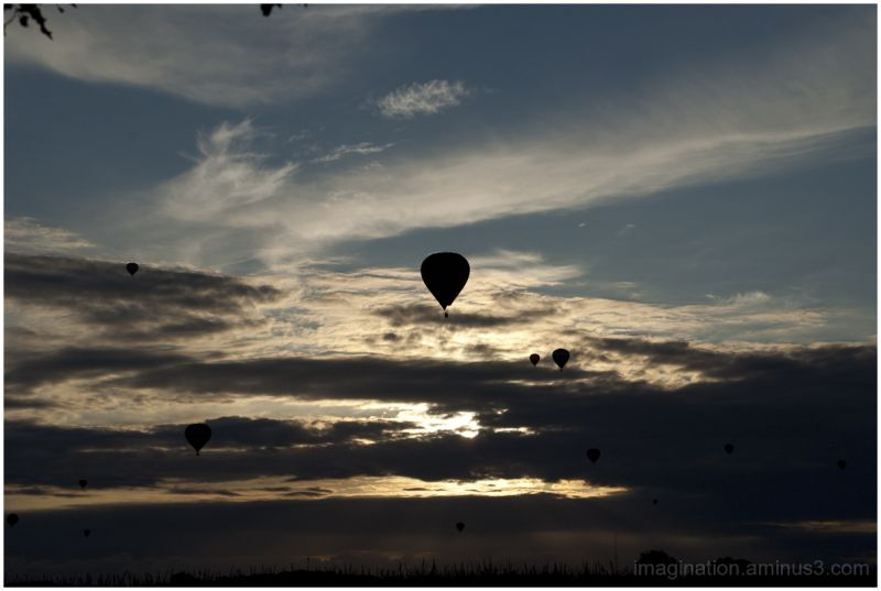 Hot air balloons, Joure