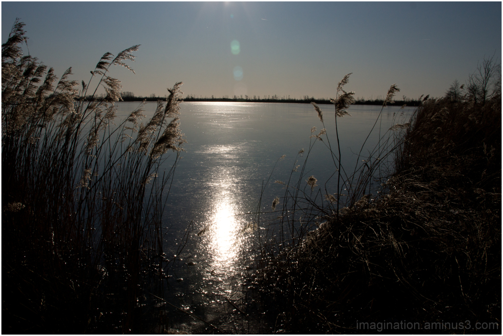 Winter, Lake, Ice