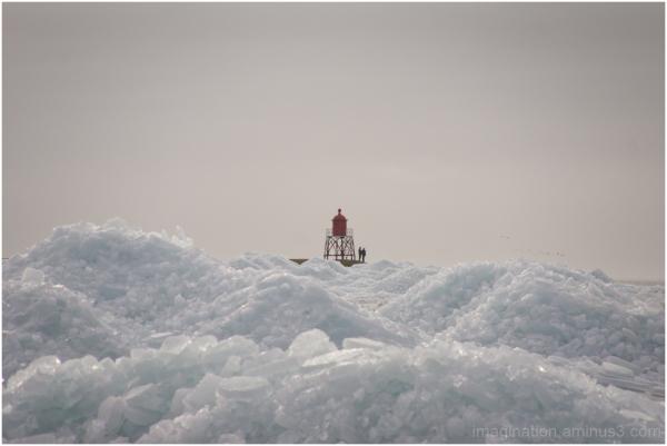 drifting ice