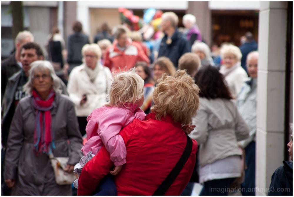 Street, Festival, People