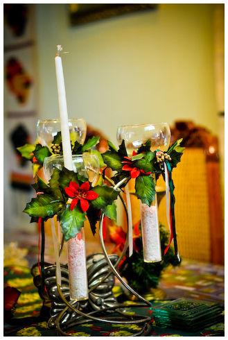 christmas, candle