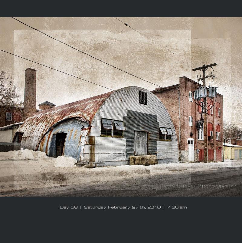 Quonset warehouse