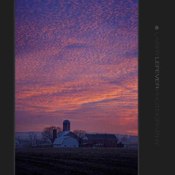 Pre-dawn sky