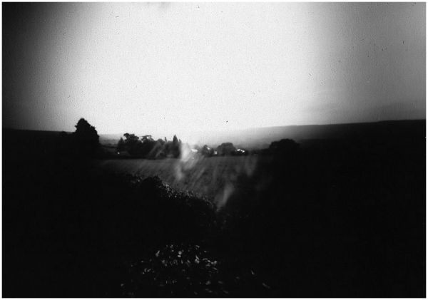 10 second pinhole pic of Osmotherley