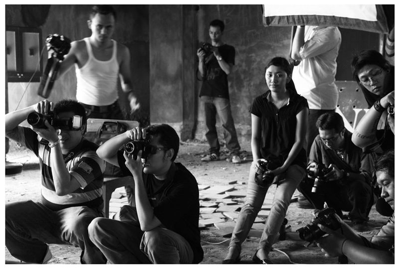 Black&white School Photography Indonesia Yogyakart