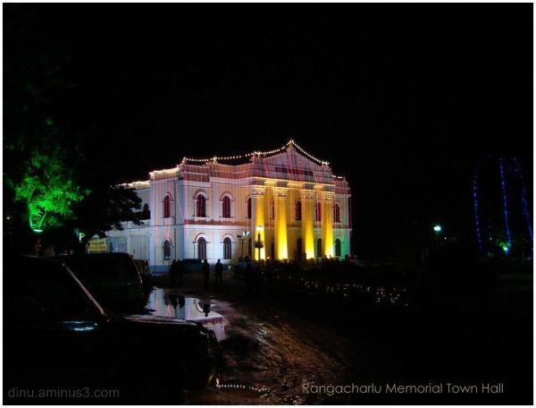 Town Hall Glistens