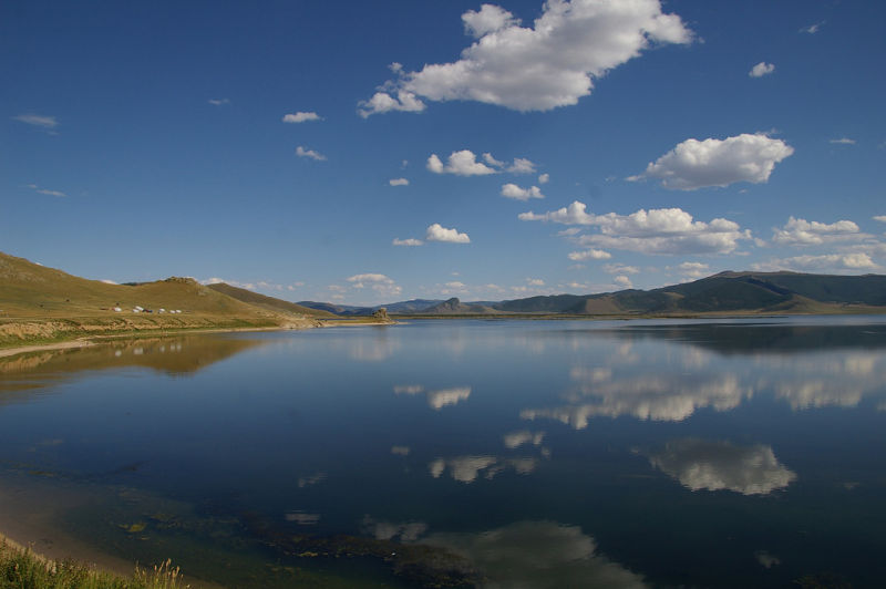Mongolia - The White Lake