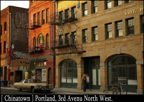Portland, Chinatown