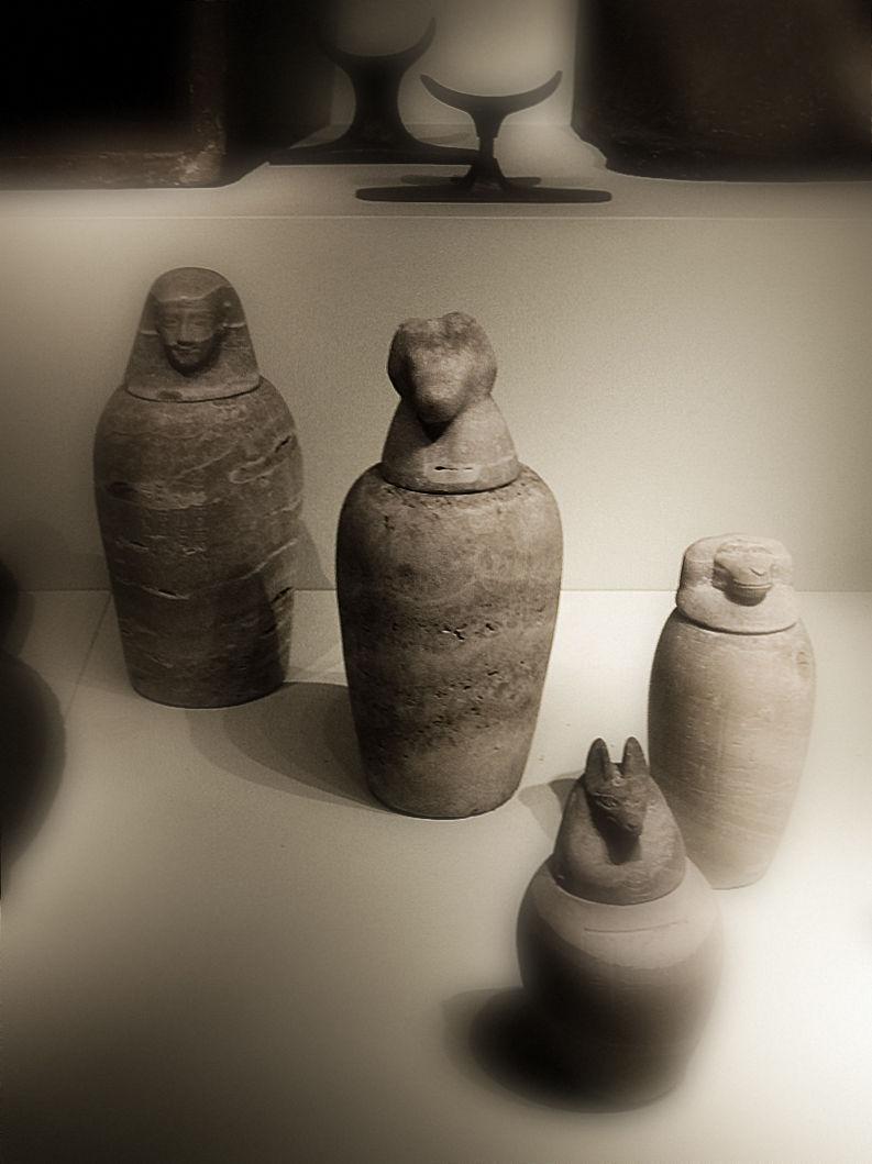 Canopic jars