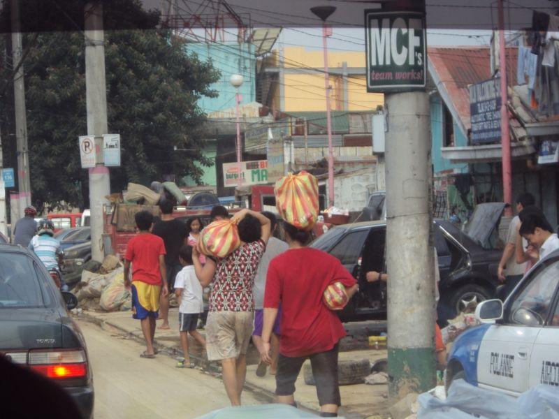 Ondoy relief operations in Marikina