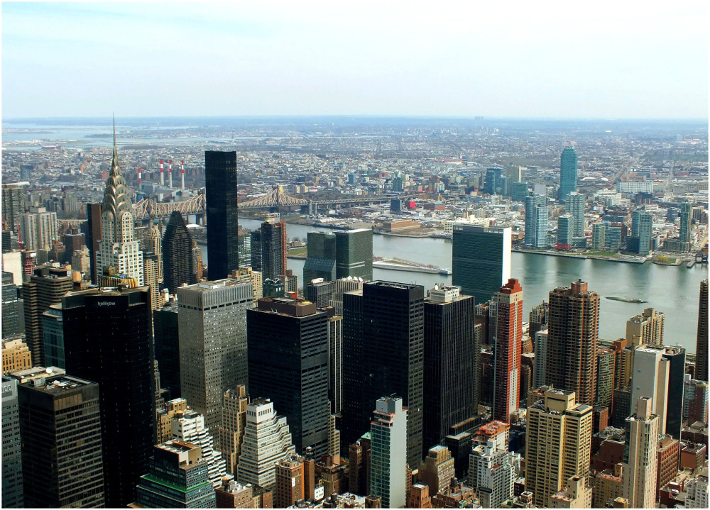 On top of Empire State...