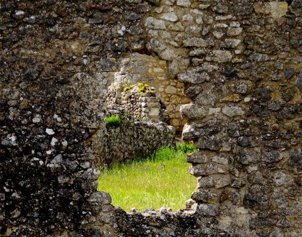A gap in a castle wall