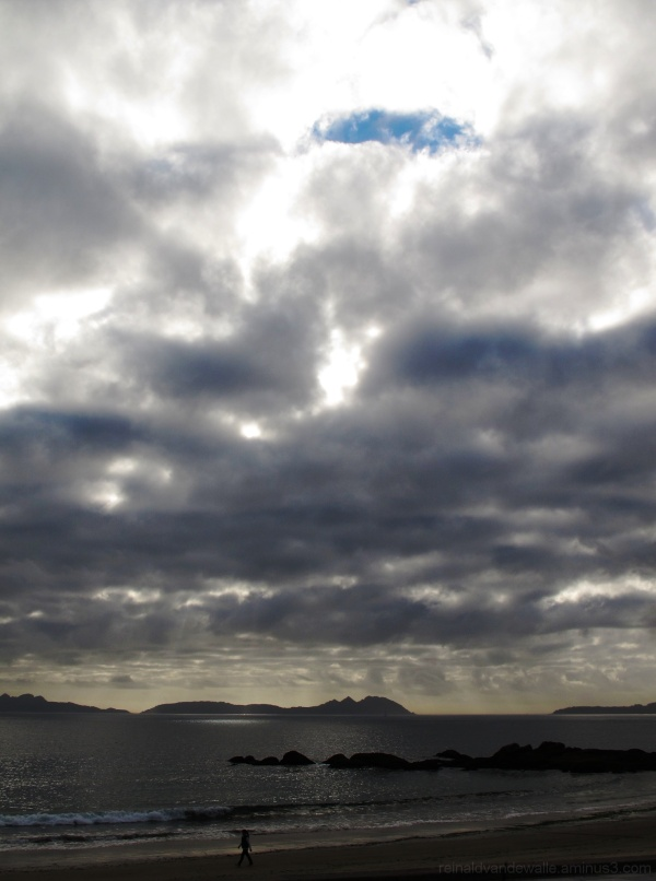 Clouds over Cies Islands, Vigo