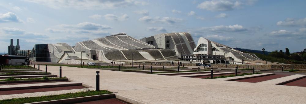 Architectural complex.