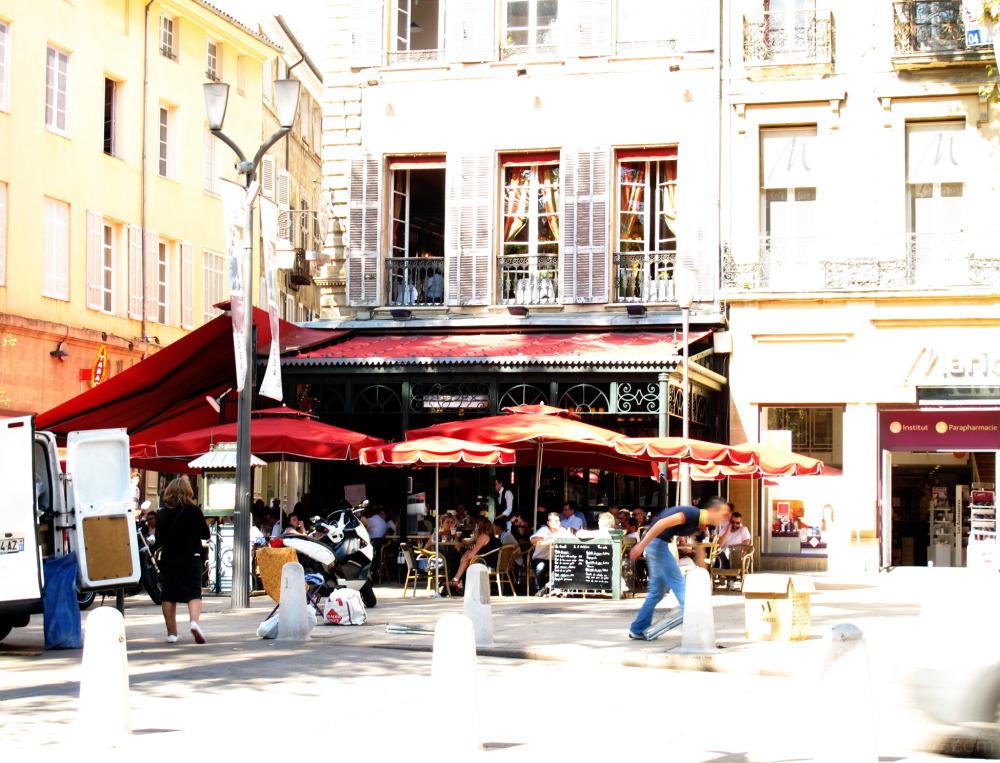 Corner in France