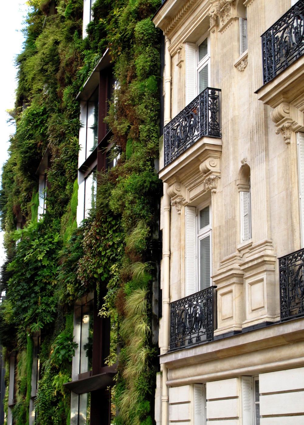 Contraste de façades