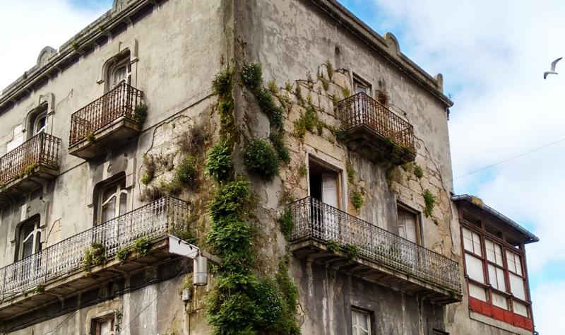 Old construction in Vigo