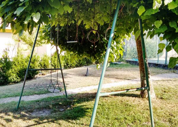 swings in the shade